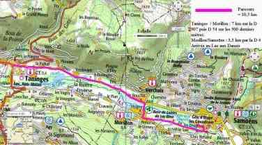 carte parcours vélo2compress
