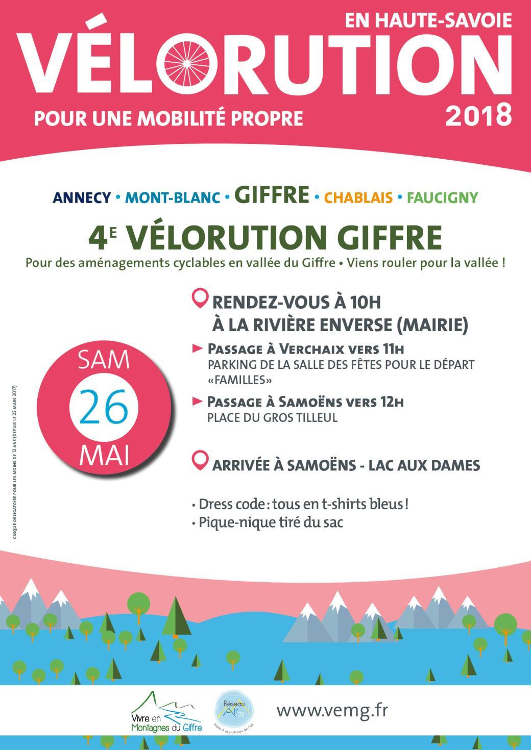 Affiche vélorution2018