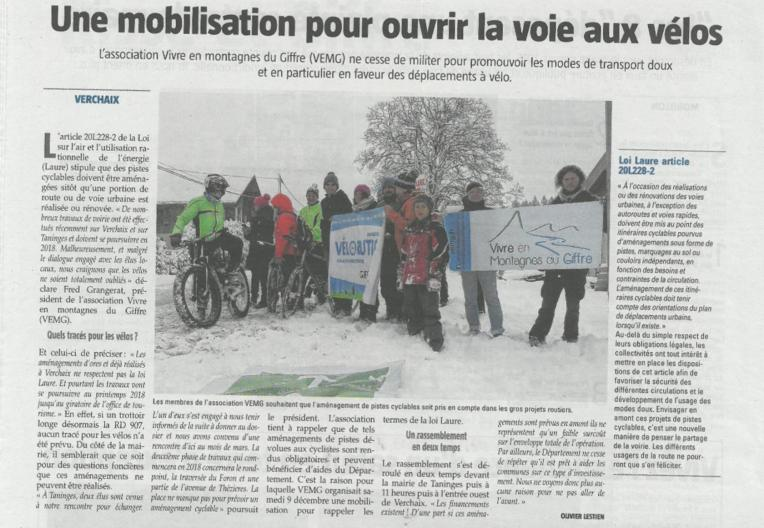 VEMG article Messager flashmob vélo 09 12 2017-page-001